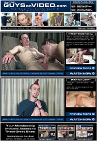 Guys On Video is a very straightforward hardcore and masturbation site.