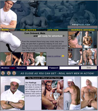 Navy Meat is proud to feature the hardest, hottest sea men in the world!